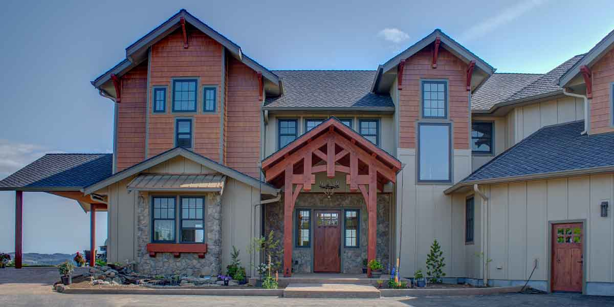 A Northwest Lodge by Mike Riddle Construction