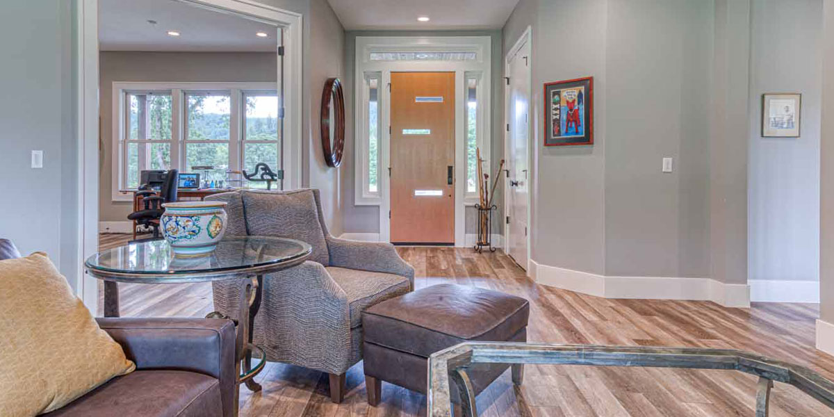Entry info Modern Wine Country Farmhouse by Mike Riddle Construction