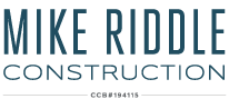 Mike Riddle Construction CCB#194115
