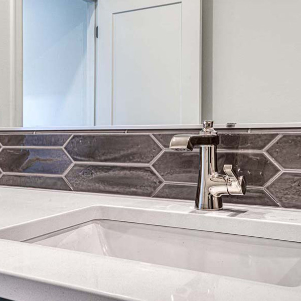 Bathroom Fixture in Modern Iconic by Mike Riddle Construction