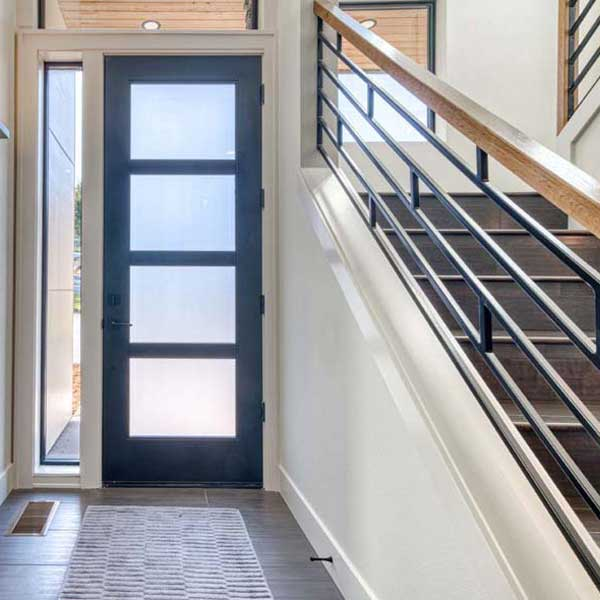 Indoor Entry in Modern Iconic by Mike Riddle Construction