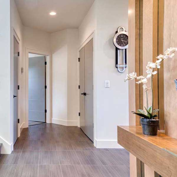 Hallway in Modern Iconic by Mike Riddle Construction
