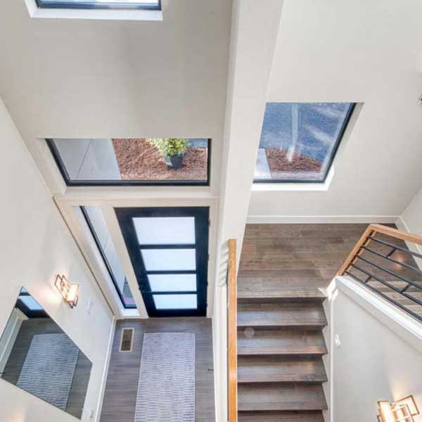 Stairs in Modern Iconic by Mike Riddle Construction