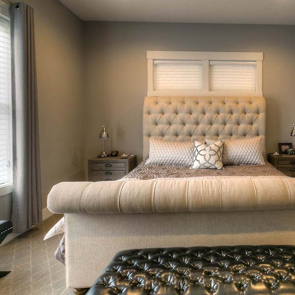 Bedroom in Family Retreat by Mike Riddle Construction