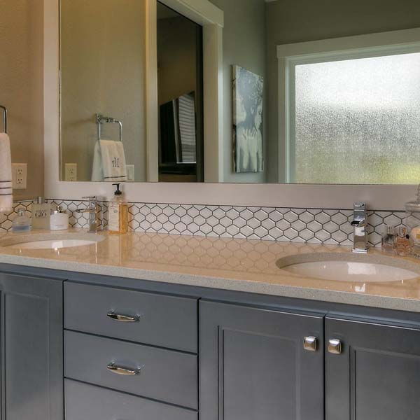Bathroom in Family Retreat by Mike Riddle Construction