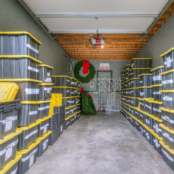 Storage in Family Retreat by Mike Riddle Construction
