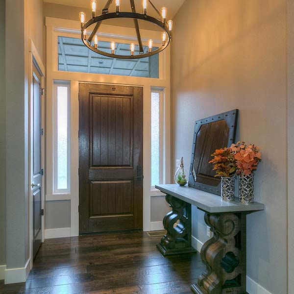 Entry in Family Retreat by Mike Riddle Construction
