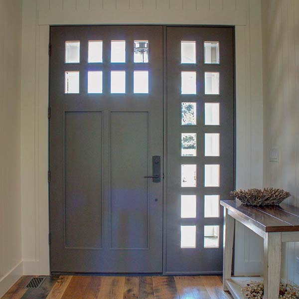 Entry in Contemporary Farmhouse by Mike Riddle Construction