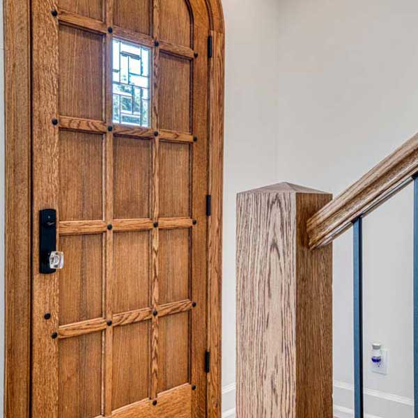 Entry in Modern Tudor by Mike Riddle Construction