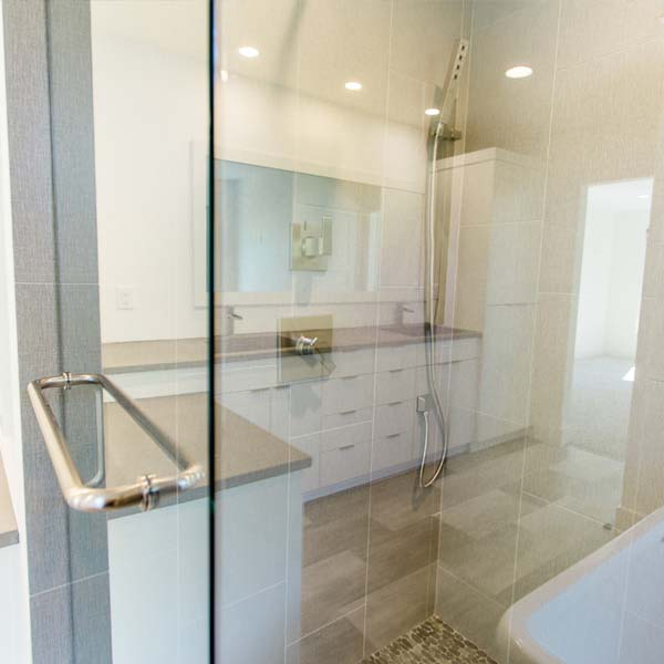 Bathroom in Modern Luxury by Mike Riddle Construction