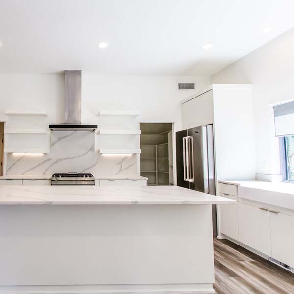 Kitchen in Modern Luxury by Mike Riddle Construction