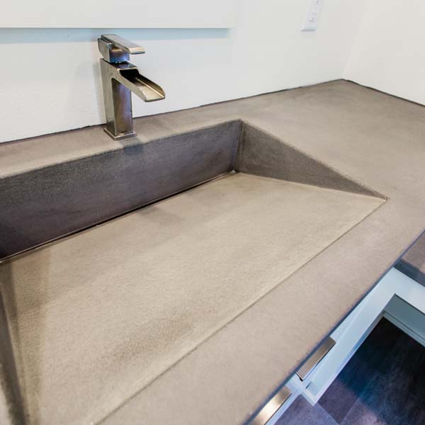 Sink in Modern Luxury by Mike Riddle Construction